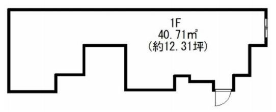 飯田橋駅 徒歩3分 スケルトン物件 【飲食可】 画像1