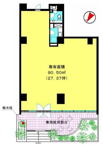 渋谷駅 徒歩8分 店舗物件 【軽飲食程度相談】 画像1