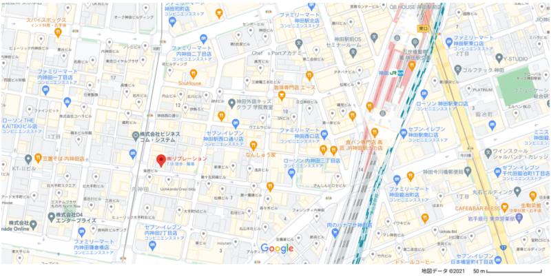 神田駅 徒歩3分 現況:クリニック その他居抜き物件 【飲食不可】 画像2