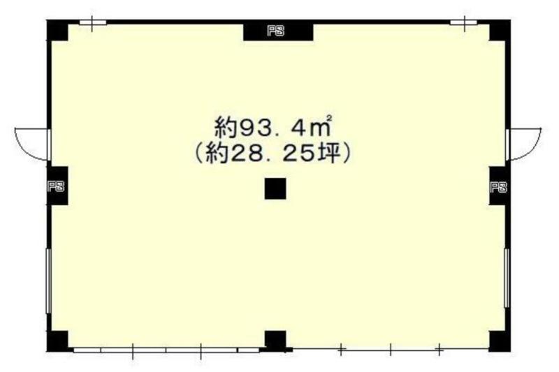 淵野辺駅 徒歩6分 スケルトン物件 【業種相談】 画像1
