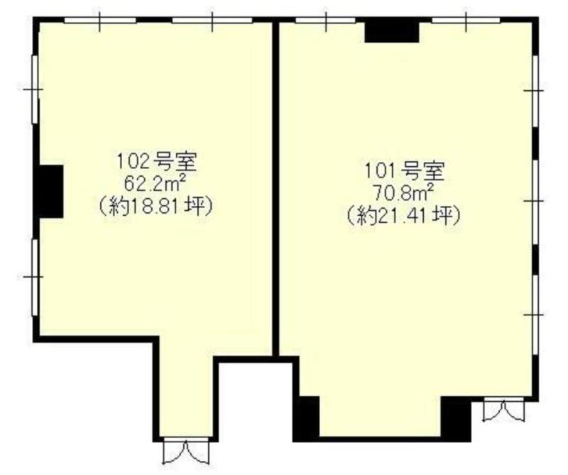 橋本駅 徒歩7分 スケルトン物件 【飲食不可】 画像1