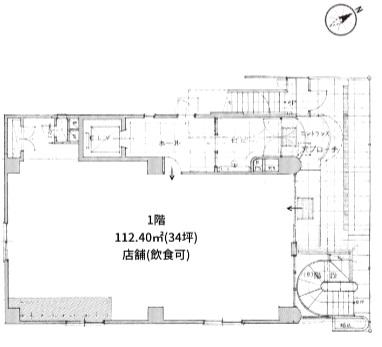 渋谷駅 徒歩7分 路面店舗物件 【飲食相談】 画像1