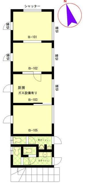 大船駅 徒歩1分 駅至近!店舗物件 【飲食可】 画像1