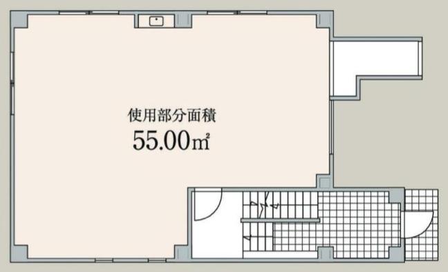 表参道駅 徒歩2分 スケルトン物件 【飲食不可】 画像1
