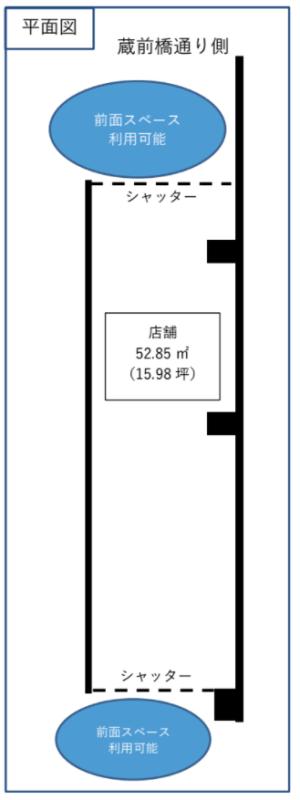 亀戸駅 徒歩8分 スケルトン物件 【飲食可】 画像1