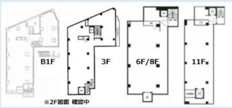 六本木駅 徒歩1分 スケルトン物件 【業種相談】 画像1