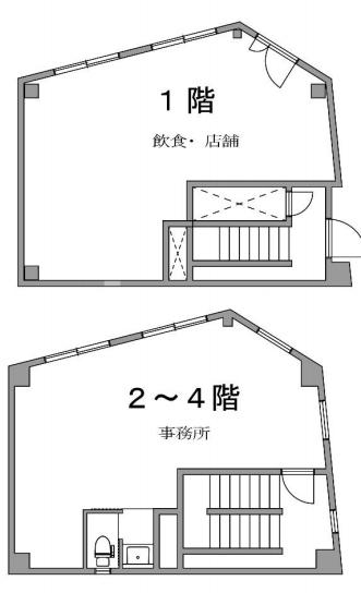 東銀座駅 徒歩7分 スケルトン物件 【業種相談】 画像1