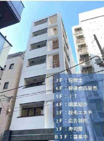 新富町駅 徒歩2分 スケルトン物件 【飲食相談】 画像0
