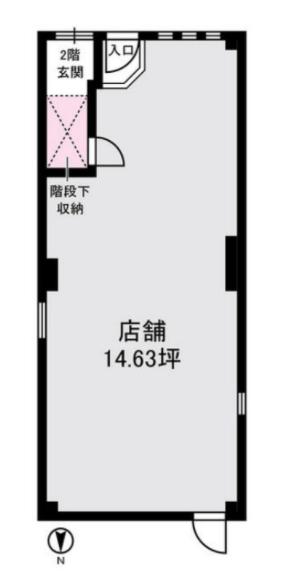 青物横丁駅 徒歩2分 現況:サービス(その他) その他居抜き物件 【飲食不可】 画像1