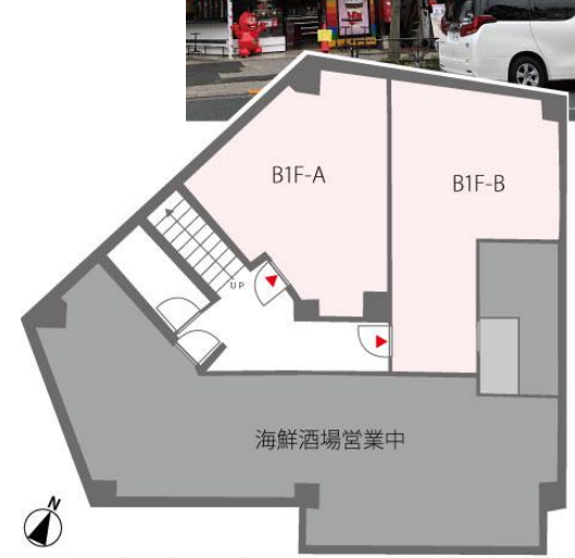 原宿駅 徒歩1分 スケルトン物件 【業種相談】 画像1