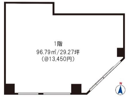 三ノ輪駅 徒歩3分 駅至近!角地の路面店舗物件 【飲食可】 画像1