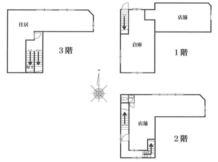 幡ヶ谷駅 徒歩4分 スケルトン物件 【業種相談】 画像0