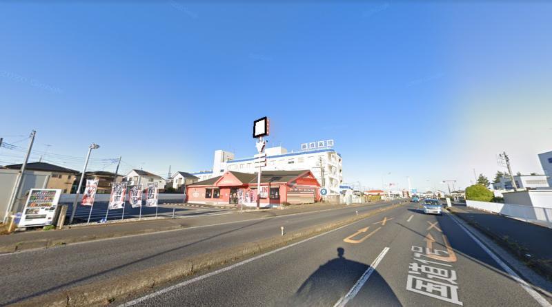 北本駅ロードサイド 1F  国道17号沿いの店舗物件【飲食可】 画像1