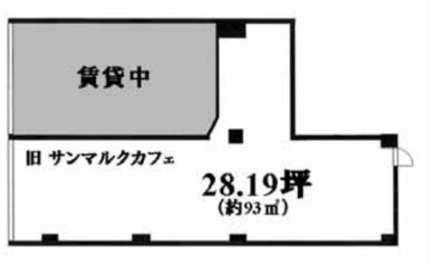 高田馬場駅 徒歩1分 スケルトン物件 【飲食可】 画像1