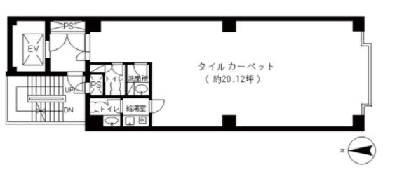麻布十番駅 徒歩3分 スケルトン物件 【飲食不可】 画像1