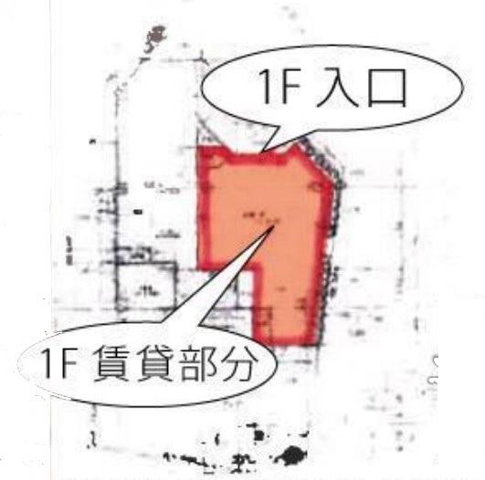 原宿駅 徒歩1分 スケルトン物件 【飲食可】 画像1