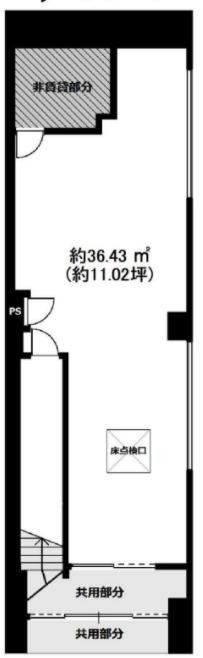 浅草駅 徒歩1分 スケルトン物件 【軽飲食程度相談】 画像1