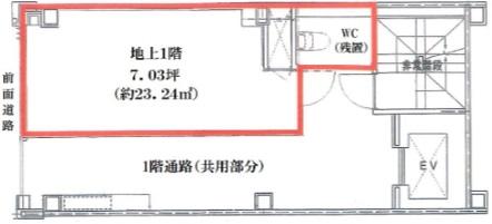 銀座駅 徒歩6分 ソニー通り沿いの路面店舗物件 【飲食可】 画像1