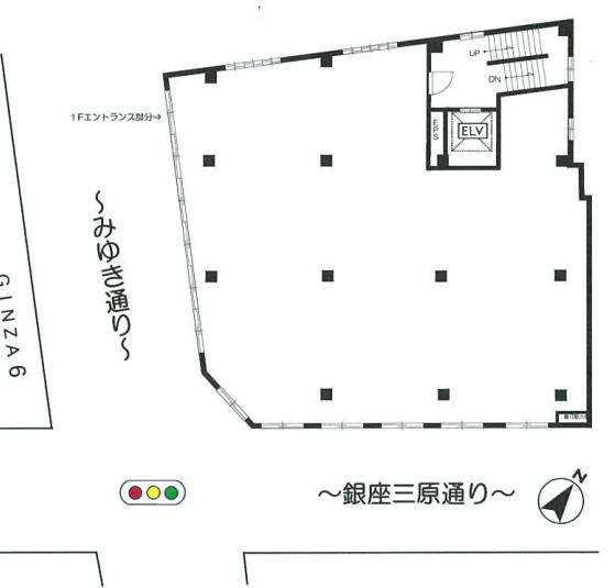 銀座駅 徒歩2分 スケルトン物件 【重飲食可】 画像1
