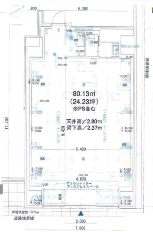 蔵前駅 徒歩3分 スケルトン物件 【飲食不可】 画像1