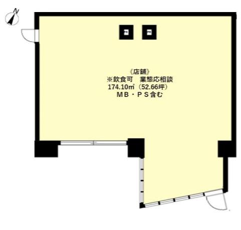 笹塚駅 徒歩1分 駅至近!店舗物件 【飲食相談】 画像1