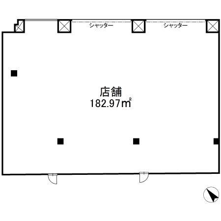 南行徳駅 徒歩7分 スケルトン物件 【飲食不可】 画像3