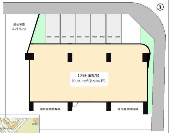 西葛西駅 徒歩3分 スケルトン物件 【飲食不可】 画像0